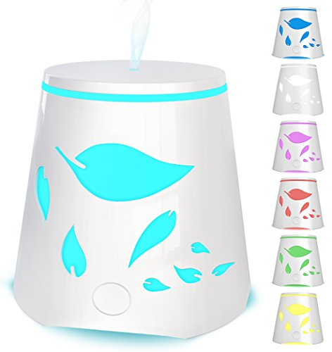 Essential Oil Diffuser 7 Color Changing Led Lights -...