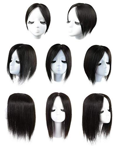ZTBXQ Perruques de beauté Outils Accessoires Haut en Soie pour Cheveux Fins 4,7 'x 4,7' 6 'Morceaux de Cheveux de chèvre Brun Brun