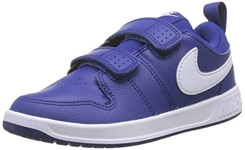 Nike Pico 5 (PSV), Zapatillas de Tenis para Niños, Multicolor (Deep Royal Blue/White 400), 32 EU