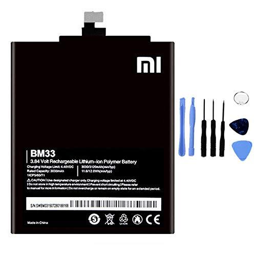 Ellenne Batería compatible con Xiaomi Mi 4i MI4i BM33 de alta capacidad 3030 mAh con kit de desmontaje incluido