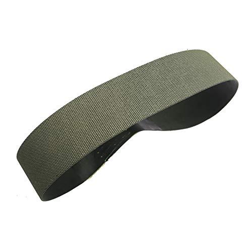 feel Cinturones de Lijado de Tela 1 Pieza de 686 * 50 mm Diamante electroplateado Lijas de Banda P200, Utilizado para moler y pulir Materiales superhardos Cinturones Abrasivos Lijado Correas