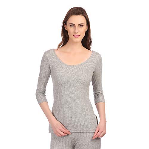 Neva Women's Milange Grey Cotton Thermal