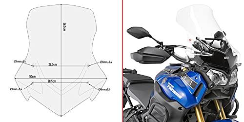 givi parabrezza d2119st compatibile con yamaha xt 1200 ze super tenere 2014 2015 2016 2017 2018 2019 2020 mototopgun d2119st
