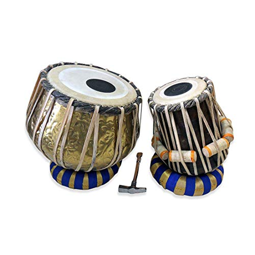 Deluxe Brass Bayan Tabla Pair