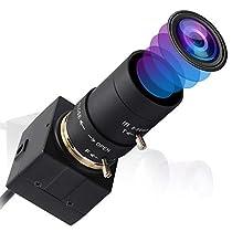 ELP 2.8-12mm バリフォーカルレンズ Usb カメラ フルHD 1080P ...