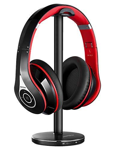 Mpow – Auriculares inalámbricos para TV rojos. | Elegancia total