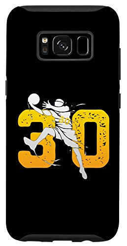 Galaxy S8 Best Basketball Player number 30 Gift For the Warriors Fans Case