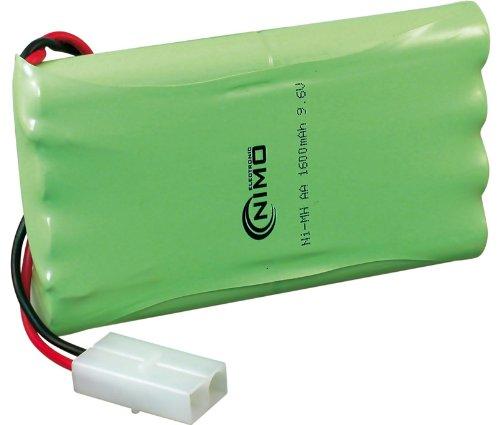 Pack de baterías 9,6v/1600mAh NI-MH