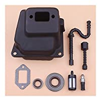 完璧なフィット感 For STIHL MS380 038燃料オイルフィルターラインシールガスケットキットチェーンソー1119 007 1005 優れた耐摩耗性