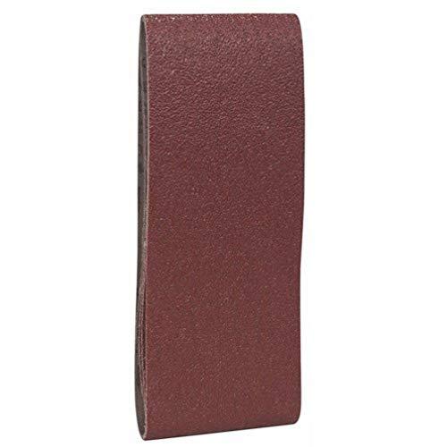 Bosch Pro Schleifband für Bandschleifer Holz und Farbe Best for Wood and Paint (3 Stück, Körnung 40, X440)