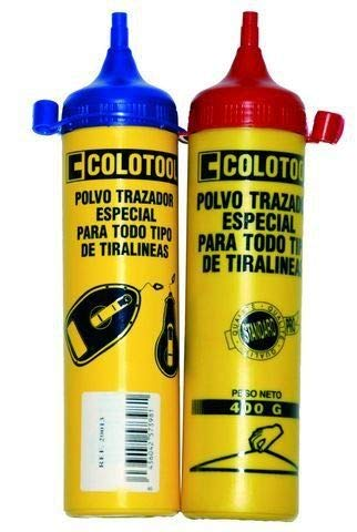 POLVO TRAZADOR 400G COLOTOOL AZULETE PARA TIRALÍNEAS