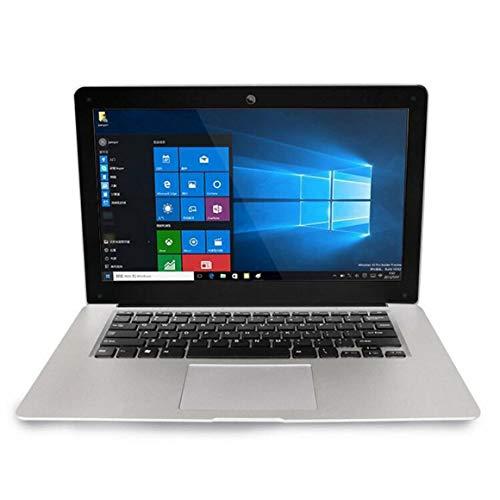 KoelrMsd Ordenador portátil ultradelgado de Internet de Oficina de 15,6 Pulgadas y Cuatro núcleos, bajo Consumo de energía, Ordenador portátil con Pantalla LED Azul anti-4G + 64G