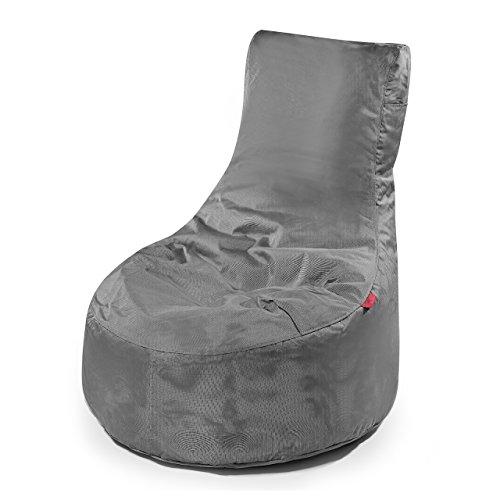 Outbag Pouf Slope couleur Anthracite Taille 90 x 85 cm (H x l) Hauteur d'assise 30 cm