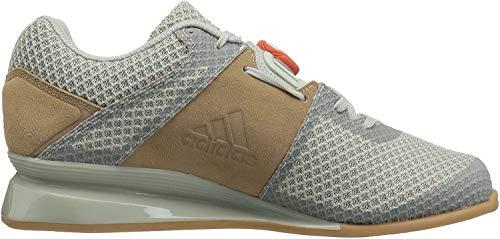 adidas Men's Leistung.16 II Cross Trainer, Ash Silver/Raw Amber/Trace Cargo, 6 UK