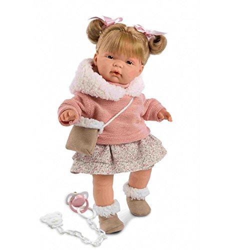 Llorens Puppe spanisch Babypuppe Neugeborene Spielpuppe 38326 Joelle 38 cm Neuheit 2018