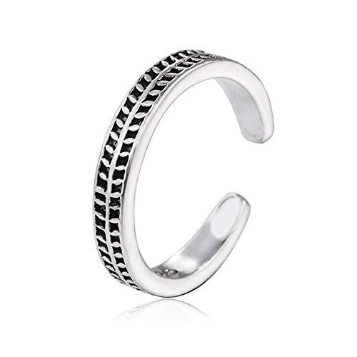 Yarmy ring verstelbare ringen, bladeren geweven open ringen verstelbare sieraden accessoires voor dames