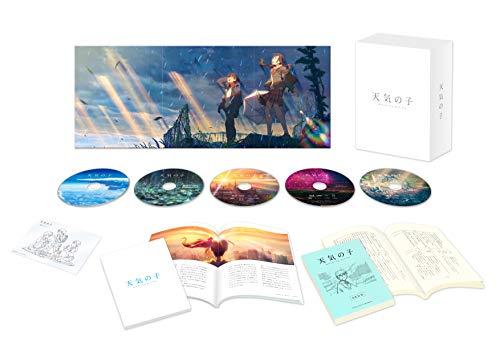 【Amazon.co.jp限定】「天気の子」Blu-rayコレクターズ・エディション 4K Ultra HD Blu-ray同梱5枚組【初回生産限定】(Amazon.co.jp限定:メガジャケ+アンブレラマーカー付)