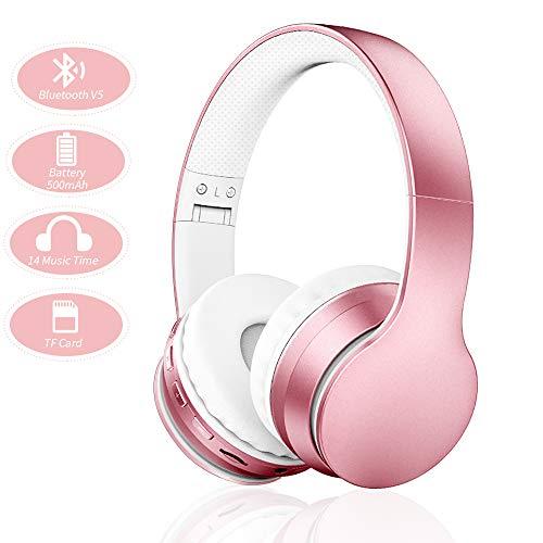 Ifecco Bluetooth Estéreo Auriculares Música Sobre-oído Sonido de alta fidelidad,...