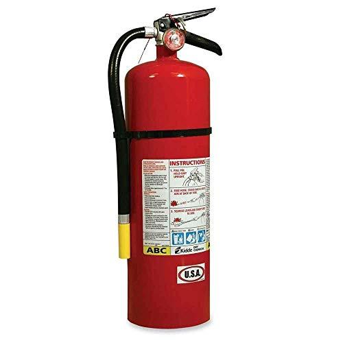 Kidde 466204 ProLine Pro 10MP Fire Extinguisher, 4 A, 60 B:C, 195psi, 19.52h x 5.21 dia, 10lb
