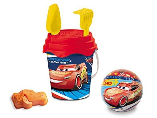 Mondo 18/531 Cars 2 - Cubo y Juguetes de Playa