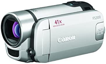 Canon FS300 Flash Memory Camcorder w/41x Advanced Zoom (Silver) (Discontinued by Manufacturer)