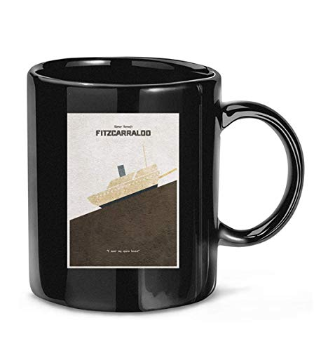 Fitzcarraldo Alternative Minimalist Poster Werner Herzog Klaus Kinski Opera House Coffee Mug For Women and Men Tea Cups