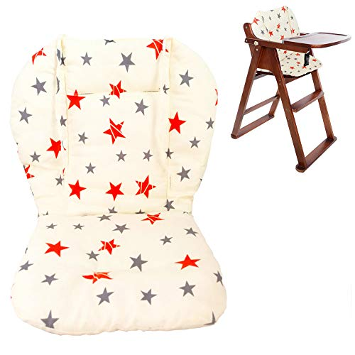 Twoworld Baby High Chair Seat Cushion Liner Mat Pad Cover...