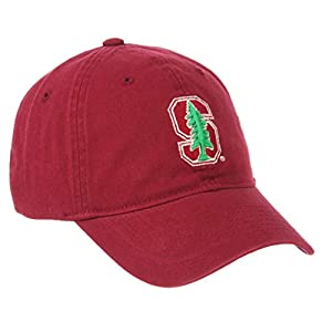 NCAA Zephyr Stanford Cardinal Mens Scholarship Relaxed Hat, Adjustable, Team Color