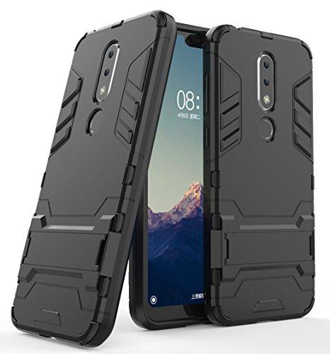 Nokia 6.1 Plus (2018) / Nokia X6 Handy Tasche, FoneExpert® Hülle Abdeckung Cover Slim schutzhülle Tough Strong Rugged Shock Proof Heavy Duty Hülle Für Nokia 6.1 Plus (2018) / Nokia X6