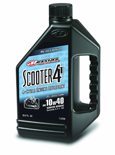 Maxima 11901 Scooter 4T 10W40 Engine Oil - 1 Liter Bottle