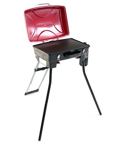 Stable Stow and Go Wheeled Portable Gas Grills for Camping