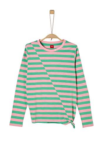 s.Oliver Junior 401.10.004.12.130.2022245 T-Shirt, Mädchen, Grün XL REG