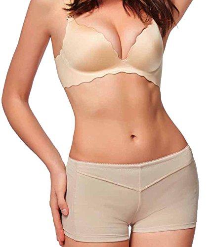 Gotoly Women's Thigh Slimmer Butt Lifter Shaper Seamless Tummy Control Hi-Waist (3XL/4XL, Black-1516)