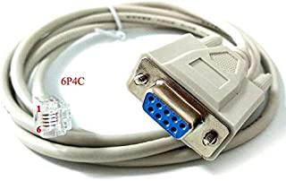 Computer Cables & Connectors - db9 rs232 serial to rj22 adapter cable tls2200 pc to printer cable TLS2200 PC - printer cab...