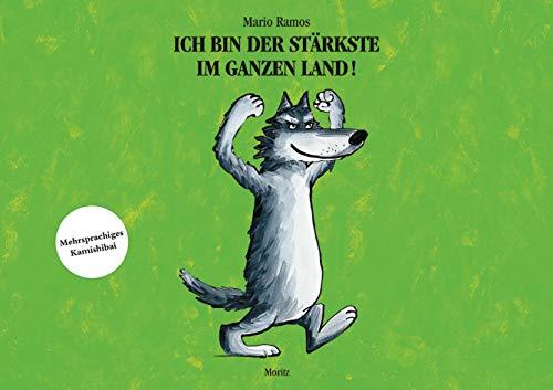 Ich bin der Stärkste im ganzen Land, Kamishibai: Viersprachiges Bildkartenset für Kamshibai, Deutsch - Französisch - Polnisch - Türkisch, Format A3