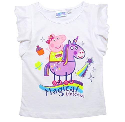 Peppa Pig Maglietta Maniche Corta per Ragazze