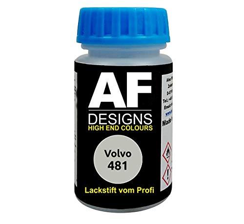 Lackstift für Volvo 481 Cosmic White Metallic schnelltrocknend Tupflack Autolack