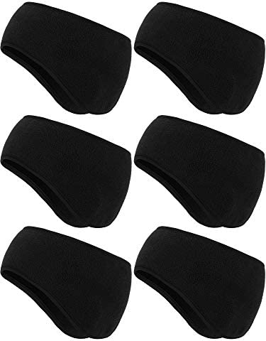 6 Pieces Ear Warmer Headbands Winter Ear Muffs Headband Sports Full Cover Headbands for Outdoor product image