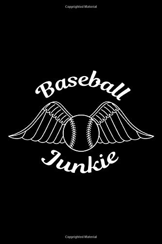 Baseball Junkie: 100 Pages 6'' x 9'' Lined Writing Paper | Perfect Gift For Baseball Or Softball Players, Fans, And Coaches!