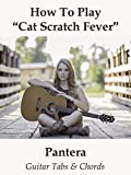 How To Play'Cat Scratch Fever' By Pantera - Guitar Tabs & Chords