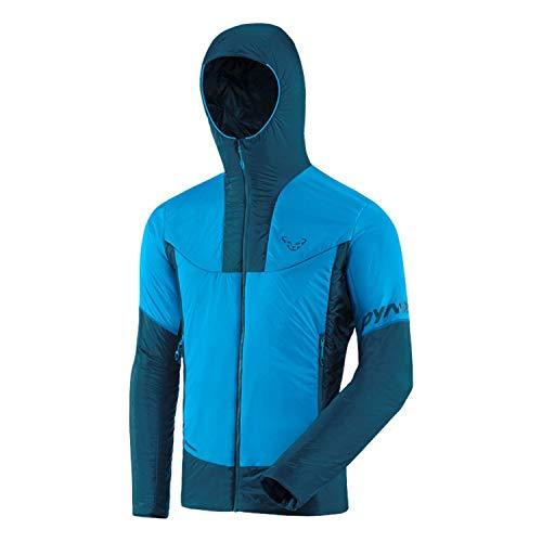 DYNAFIT M Speed Insulation Hooded Jacket Colorblock-Blau, Herren Primaloft Winterjacke, Größe L - Farbe Frost