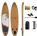 Tabla de Paddle Surf Hinchable - Sup Hinchable 335x85x15 Accesorios - Remo Aleta Leash Bolsa de Transporte