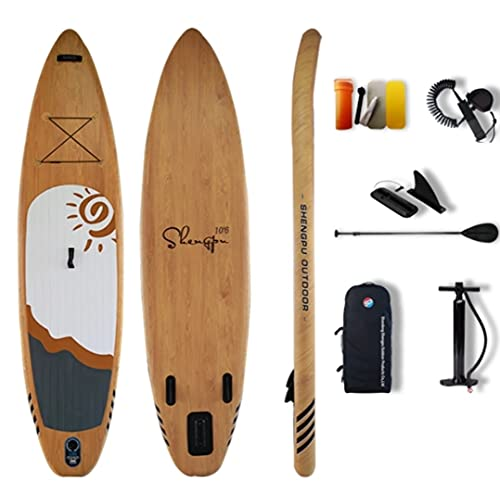 Tabla de Paddle Surf Hinchable - Sup Hinchable 335x85x15 Accesorios - Remo Aleta Leash Bolsa de Transporte