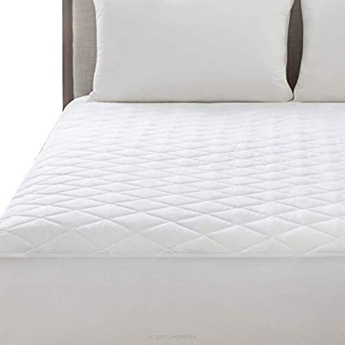 HANSON AND LANGFORD 200TC Mattress Protector - Easy Care 4ft Small Double King Diamond Quilted Cover | 200 Threat Count Fitted Bedding Protector | Non-Allergenic, Anti Dustmite & Absorbent (Bunk Bed)