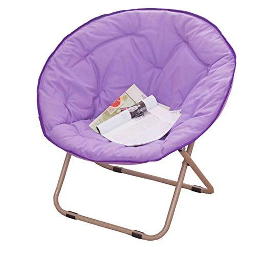 WEHOLY Mode créative Chaise Confortable et Confortable, Fauteuil Grand Fauteuil inclinable Fauteuil inclinable pour canapé-Lit canapé Tabouret de Bar (Couleur: Violet)