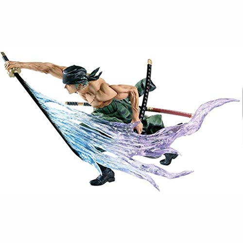 LCFF Anime Model One Piece Anime Figure Action Figure Figurine Collection Statue Ornaments Decoration Kids Toys Doll Gift (Color : Roronoazoro-11cm)