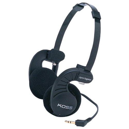 Koss Sporta Pro - Auriculares de diadema cerrados (3.5 mm), negro