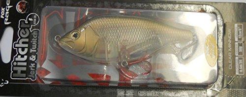 Fox Rage Hitcher Jerk & Twitch Wobbler Jerkbait schwimmend, Länge:12cm;Farbe:Clear Minnow