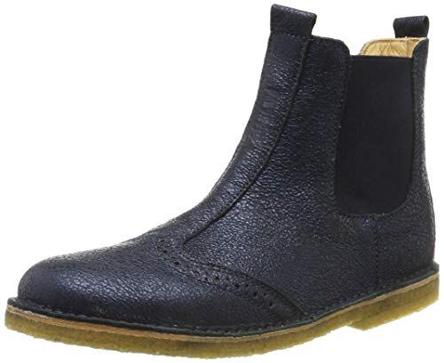 Bisgaard Mädchen Nori Chelsea Boots, Blau (Deep 611), 25 EU