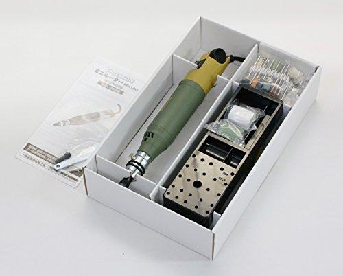 プロクソン(PROXXON)ミニルーターセットMM100No.28525-MC銀細工の彫刻・研磨・つや出し